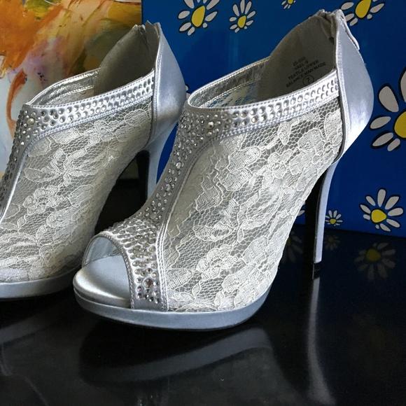 7c62f547512 De Blossom Yael-9 Womens Wedding Bridal High Heel